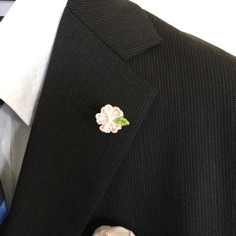 桜のタックピン(卒業式・入社式・入学式・コサージュ・ブローチ)