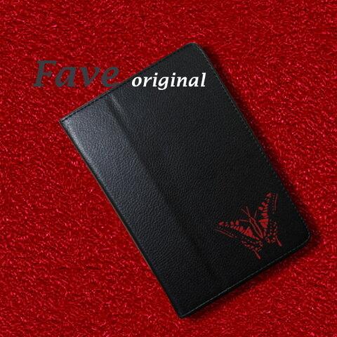 蝶 ちょう iPad オリジナル レザーケース 雑貨 グッズ 名入れ かわいい アニマル Air mini Pro 手帳型 iPadカバー タブレット