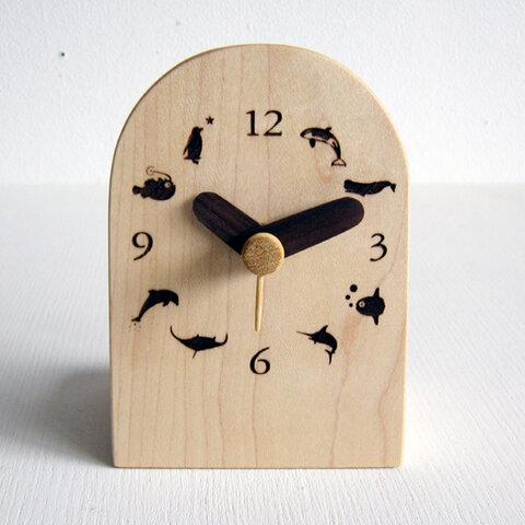 海の物語 卓上時計
