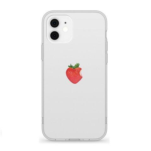 リアル いちご 13 12 SE 11 XS XR 8 7 iPhone ケース
