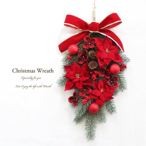 クリスマススワッグリース