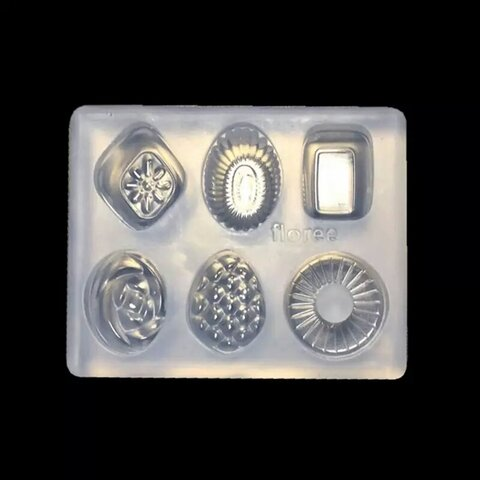 シリコンモールド 小さめ飴ちゃん 6種類