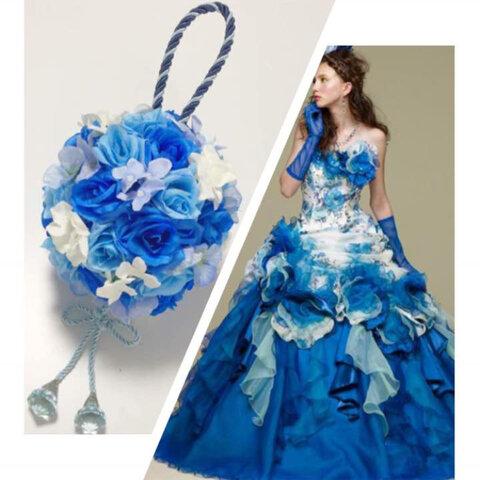 ボールブーケ 髪飾り ウェディング 結婚式 着物 前撮り 和装 色打掛