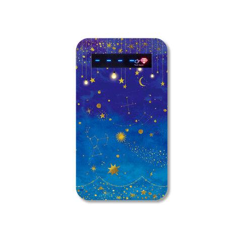 星たちの輝き モバイルバッテリー / 充電器 星空 星 流星 iPhone スマホ