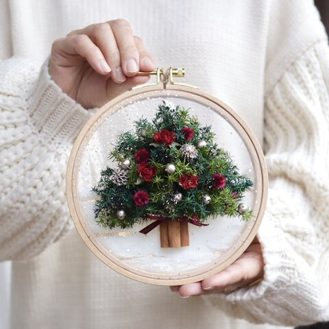 ドライローズのクリスマスツリー