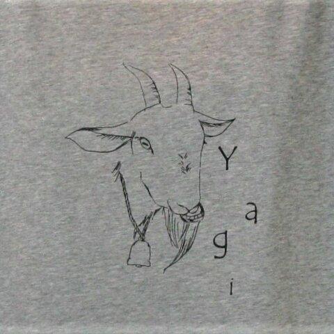 セール【L】ヤギ ドルマンTシャツ レディース