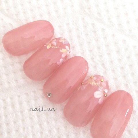 ネイルチップ・つけ爪◆オフィス・ピンク・シンプル・オーダーネイル