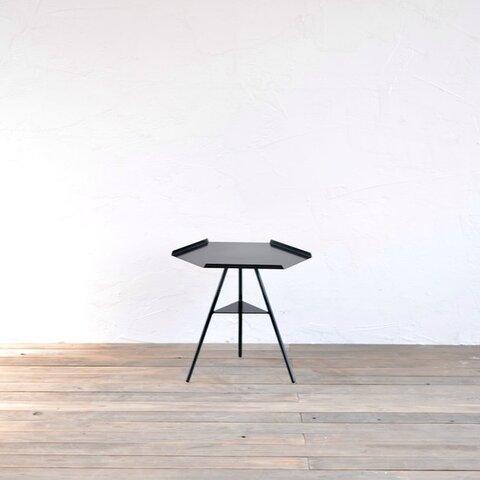 Tripod table - Steeltop Low (スチール天板・アイアン3本脚・ロウタイプ)