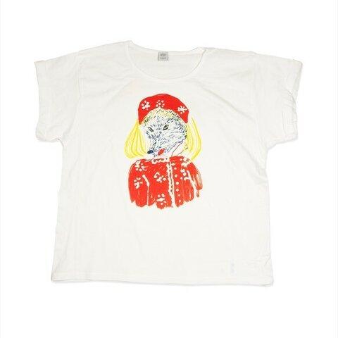 赤ずきんちゃん オオカミ Tシャツ レディース フリー Tcollector