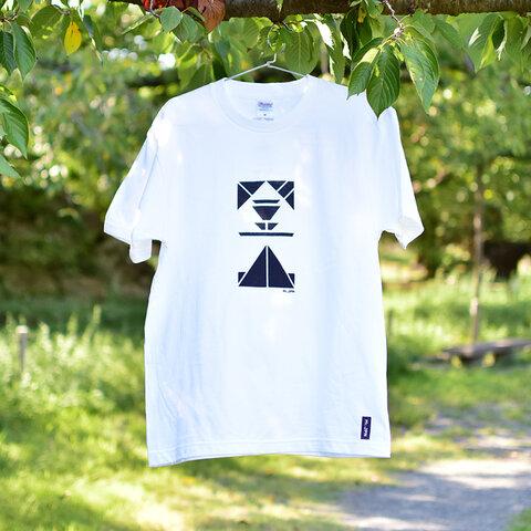 登山T(M/ホワイト×ブラック)