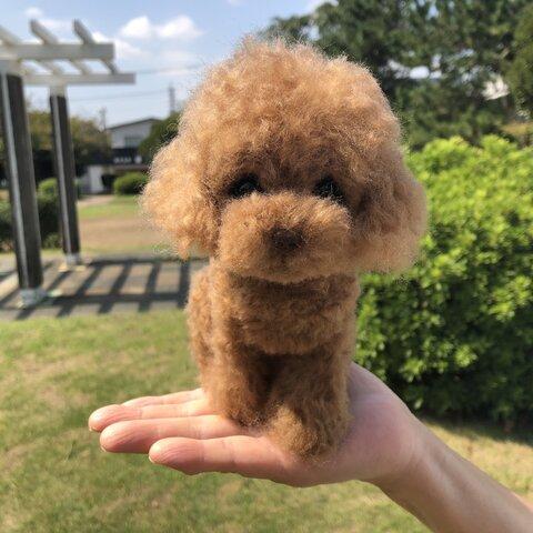 愛犬ちゃんのそっくりなリアルなペット人形をお作りします! 羊毛フェルト 犬 オーダー ぬいぐるみ 犬  ペット リアル 人形
