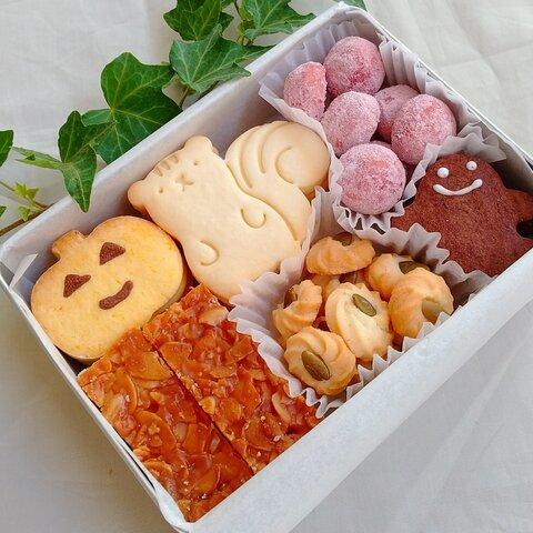 【発送日限定です】こりすのハロウィンクッキー缶