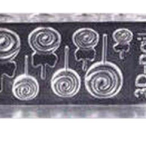シリコンモールド 3Dネイル ロリポップ キャンディー
