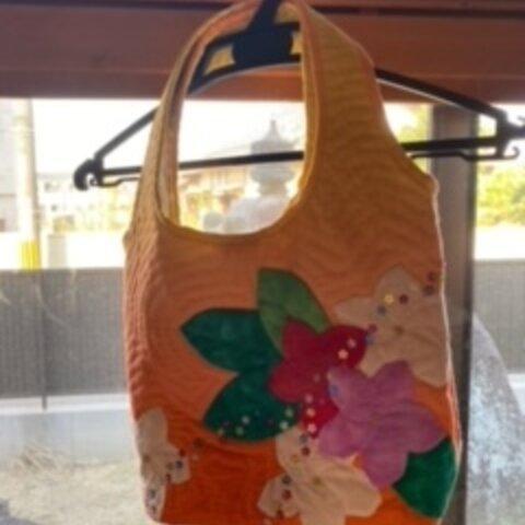 ハワイアン風!ハンドバッグ