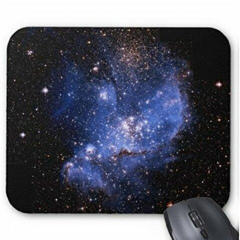 小マゼラン星雲のマウスパッド:フォトパッド(宇宙シリーズ) (トリミング-B)