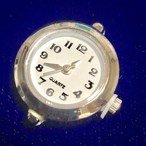 腕時計 フェイスパーツ 5 シンプルシルバー