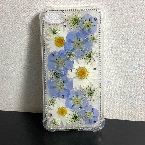ネモフィラブルーiPhoneケース