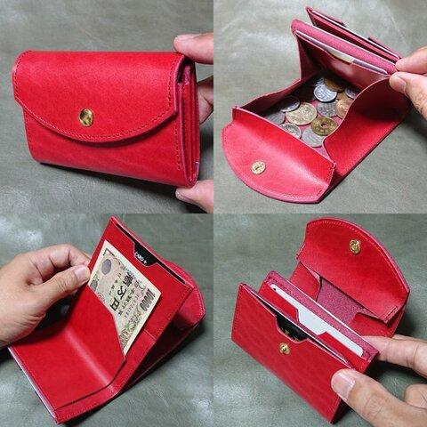 ミニ財布(赤)