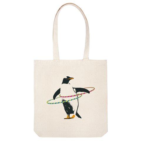 [トートバッグ] Diet penguin