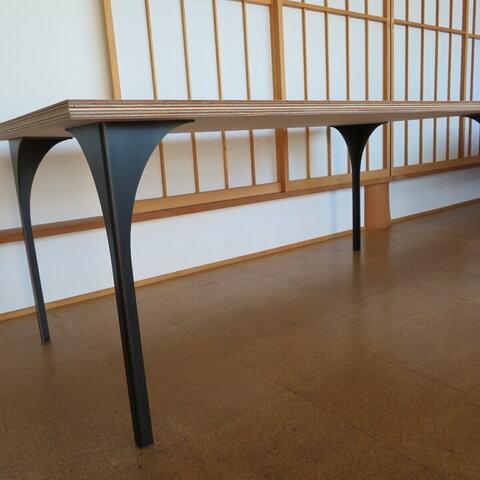 アイアン テーブル脚 4本セット g-TL △tetsumono△ 受注生産