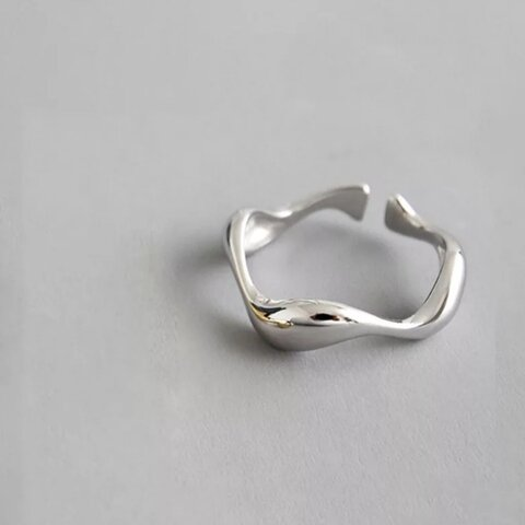 silver ring  S925【R-55】