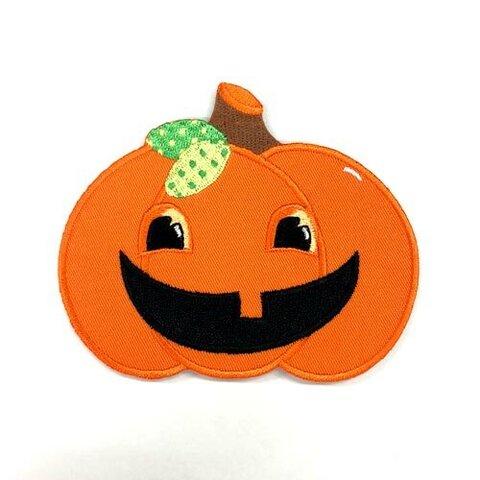 カボチャ【大きい】 アップリケ (PM-Pumpkin)