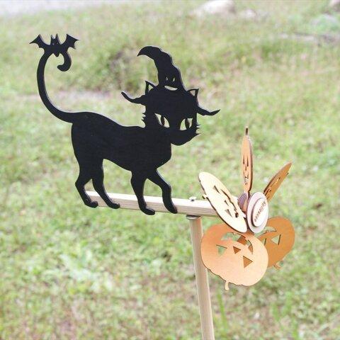 黒猫の風向計 ハロウィン