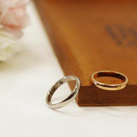 ブライダル・結婚指輪に・マリッジ・刻印10文字無料のペアリングセット 肌に優しいステンレス 記念日 プレゼント