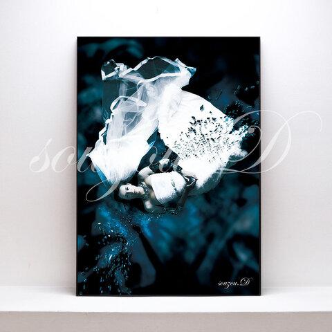 グラフィックアートA3ポスター「bride」