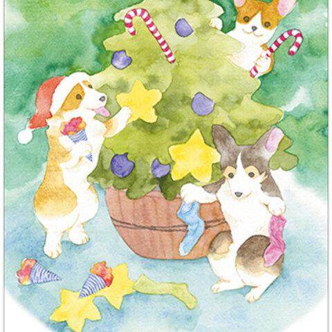 クリスマスポストカード「Holiday」