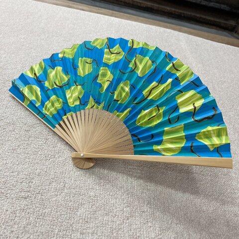 夏扇子 MIZPAM × 山武扇舗 「キャベツの塩昆布和え」