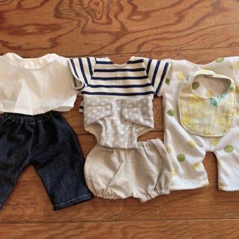 赤ちゃん人形洋服パターン