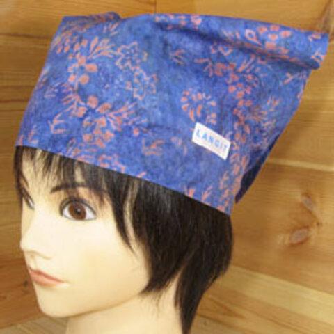 バティック 三角巾帽子 10 53cm~56cm