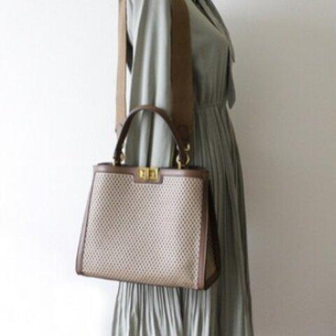 牛革透かし彫り可愛いいハンドバッグファッション通勤バッグ収納カバン