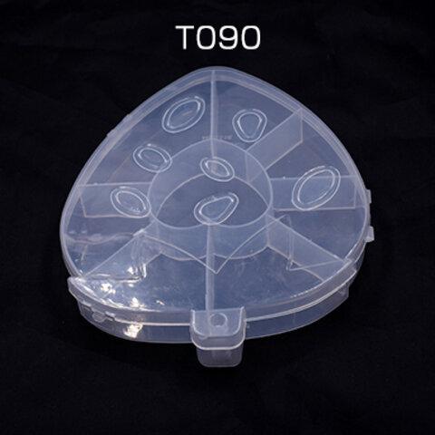 T090  3個   アクセサリーケース イチゴ 17.5×14.5×2.5cm※ネコポス不可 3×【1ヶ】