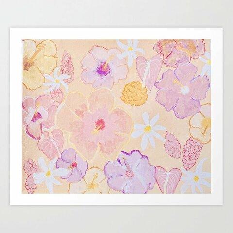 【アートプリント】Flower Tab