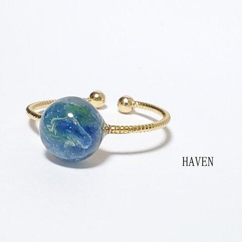 【New ver 小さな地球のリング~指輪×自然×宇宙×フリー】