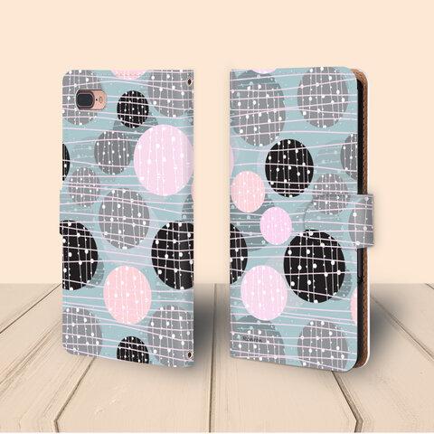 ボンボン ブルー Apple iPhoneケース androidケース 手帳型  vehi260