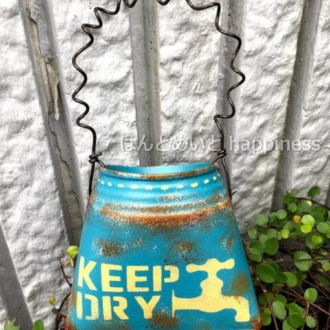 バッグ型リメ缶(KEEPDRY・ブルー) HR-62