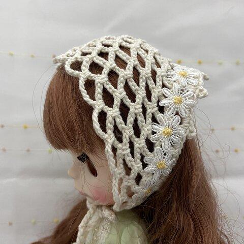 ネオブライス かぎ針編みバブーシュカ