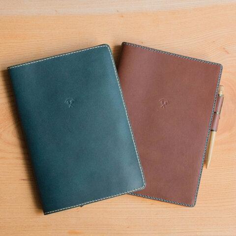 【A5サイズ】オーダーメイドの本革ギフト 手帳カバー