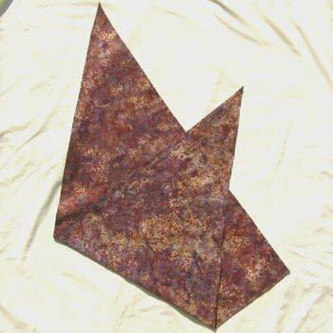 バティック 三角巾 05