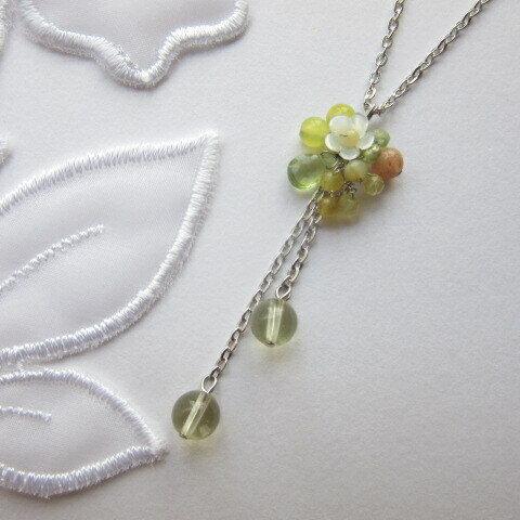 レモンの花咲くネックレス