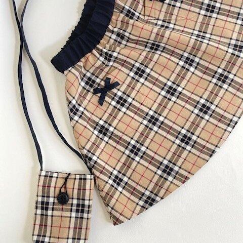 スカートとお揃いポシェット 110