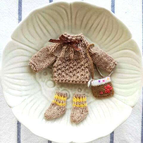 【オビツ11】3点セットニットセーター