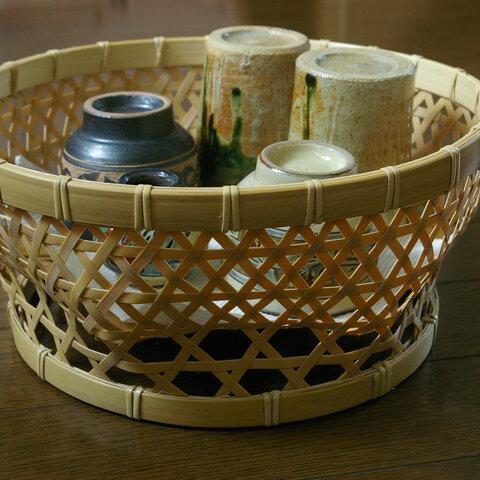 竹かご 椀かご