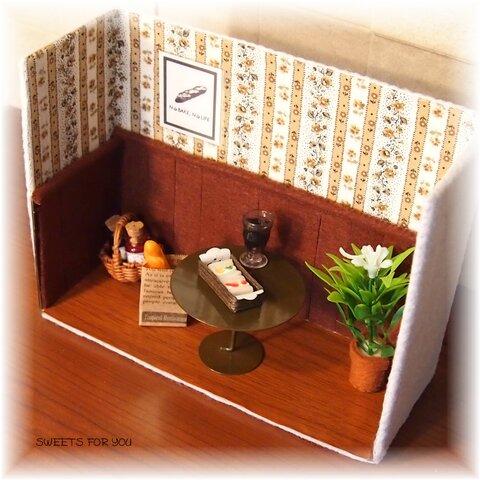 ドールハウス小さなカフェ屋さん
