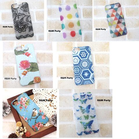セール★デコパージュ/スマホケース/iPhone6S/iPhone7/iPhone8/iPhoneSE2/riandmi