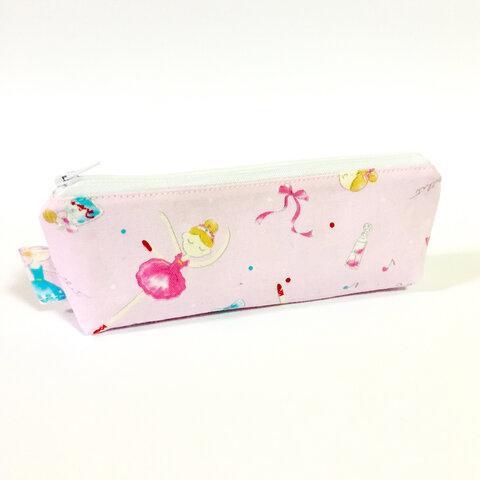 バレリーナ ピンクのペンケース