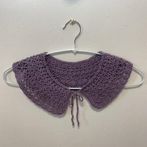 つけ襟 かぎ針編み